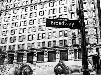 Photograph - Broadway At Herald Square by John Rizzuto
