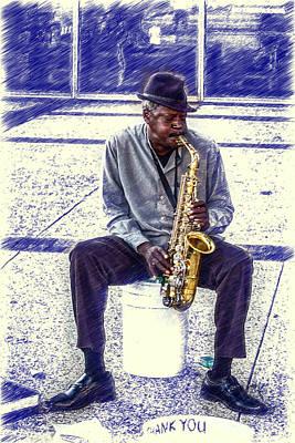 Broadway Blues Art Print by John Haldane
