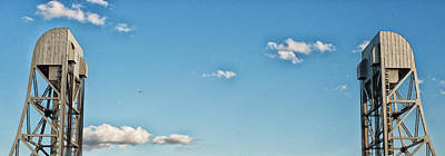 Photograph - Broadway Bridge Sky 2 Chromatic by Jeremy Herman