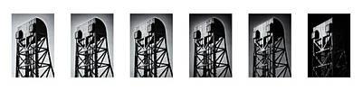 Photograph - Broadway Bridge Contrast Study 1 by Jeremy Herman