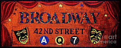 Broadway  Art Print by D Harmon