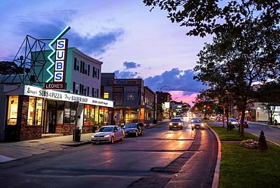 Photograph - Broadway In Somerville Ma At Sunset by Toby McGuire