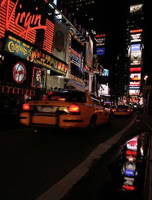 Broadway Lights Print by Karol Livote