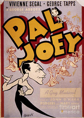 Photograph - Broadway: Pal Joey, 1940 by Granger
