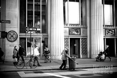 Photograph - Broadway Shuffle by John Rizzuto
