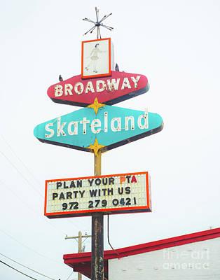 Photograph - Broadway Skate by Sonja Quintero