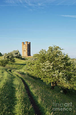 Photograph - Broadway Tower Along The Cotswold Way by Tim Gainey