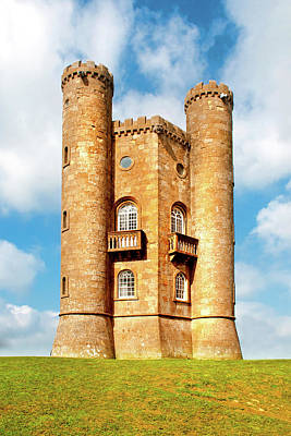 Photograph - Broadway Tower by Greg Fortier
