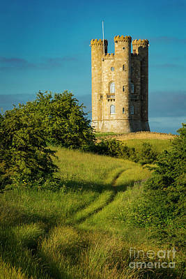 Photograph - Broadway Tower Morning by Brian Jannsen