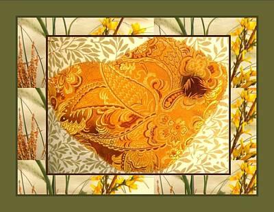 Tea Photograph - Brocade Bird by Gretchen Wrede