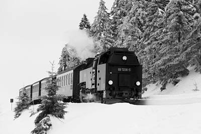 Photograph - Brockenbahn, Harz by Andreas Levi