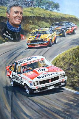 Painting - Brock's Bathurst Portrait by Colin Parker