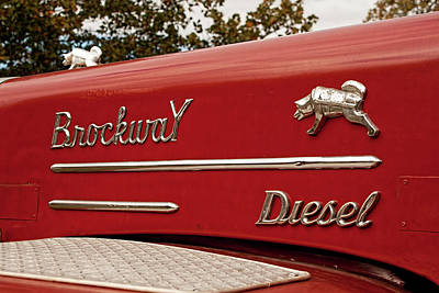 Photograph - Brockway Diesel Truck by Kristia Adams