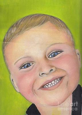Painting - Brody's Smile by Champion Chiang
