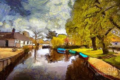 Photograph - Broek In Waterland by Eva Lechner
