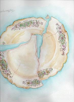 Painting - Broken 1 by Doris Blessington
