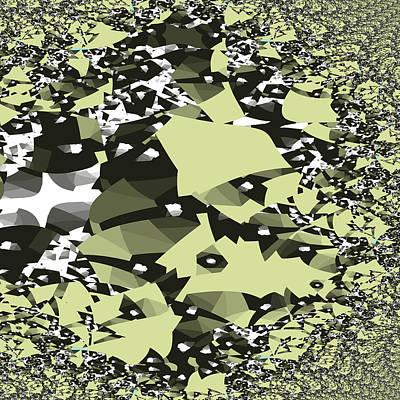 Digital Art - Broken Abstract by Jessica Wright