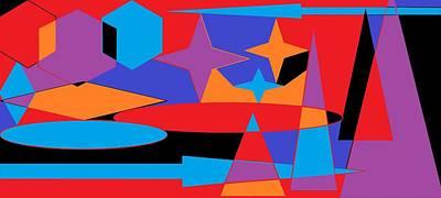 Digital Art - Broken Arrow 2 by Linda Velasquez