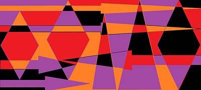 Digital Art - Broken Arrow 3 by Linda Velasquez