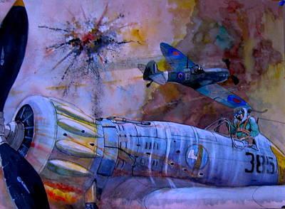 Painting - Broken Arrow by Ray Agius