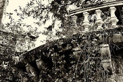 Photograph - Broken Balcony by Georgia Fowler