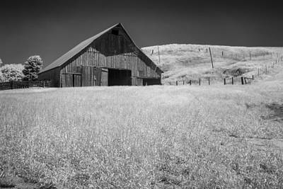 Photograph - Broken Barn by Jon Glaser