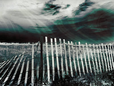 Photograph - Broken Barrier - Fifth Dimension by Shawna Rowe
