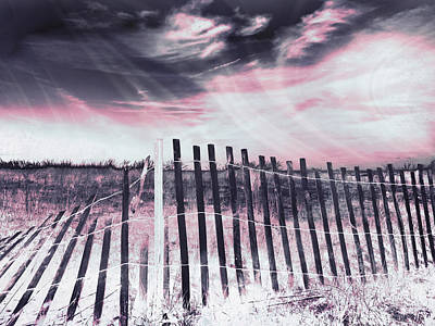 Photograph - Broken Barrier - Fourth Dimension by Shawna Rowe