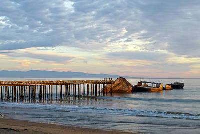 Photograph - Broken Boat, Ss Palo Alto by Amelia Racca