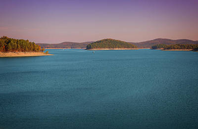 Photograph - Broken Bow Lake by Ricky Barnard