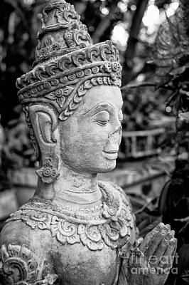 Photograph - Broken Buddha II by Dean Harte