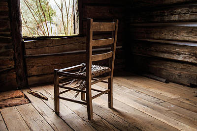 Photograph - Broken Chair by Doug Camara