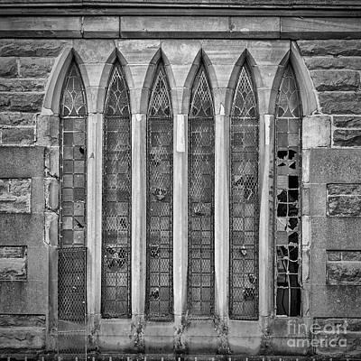 Photograph - Broken Church Windows by Antony McAulay