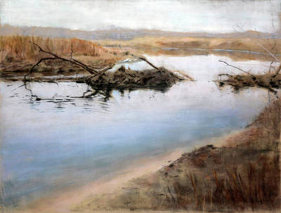 Painting - Broken Dam by Christopher Reid