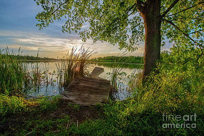 Photograph - Broken Dock by David Arment