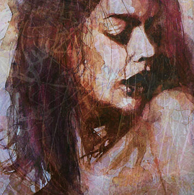 Torn Painting - Broken Down Angel by Paul Lovering