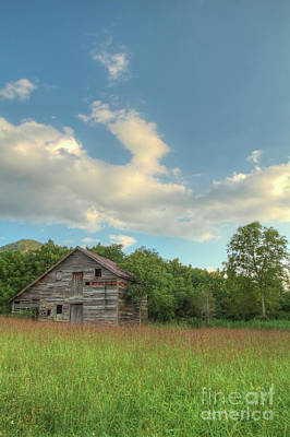 Photograph - Broken Down Barn by David Cutts
