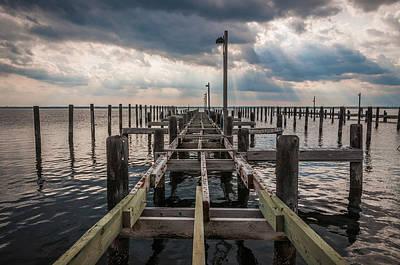 Island Beach State Park Photograph - Broken Down by Kristopher Schoenleber
