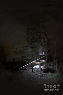 Creepy Mixed Media - Broken Dreams by Svetlana Sewell