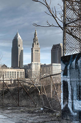 Photograph - Broken Fences - Portrait by At Lands End Photography