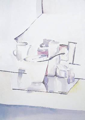 Painting - Broken Glass by Naini Kumar