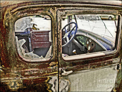 Photograph - Broken In by John Anderson