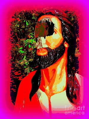Digital Art - Broken Jesus #2 by Ed Weidman