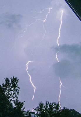 Photograph - Broken Lightning Strokes by Deborah Smolinske