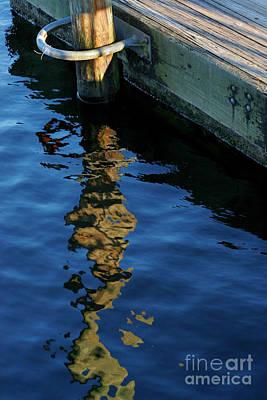Broken Pier Art Print by Angie Bechanan
