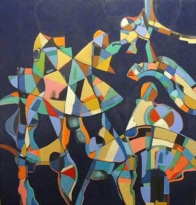 Painting - Broken Promises Last Forever by Bernard Goodman