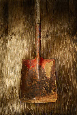 Industrial Photograph - Tools On Wood 2 by YoPedro
