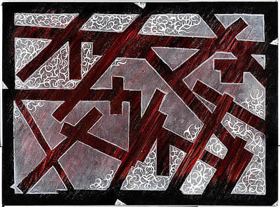 Broken Skin Art Print by Nathaniel Hoffman