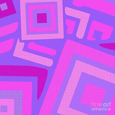 Broken Squares Art Print