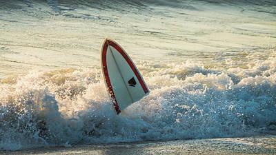 Photograph - Broken Surfboard Delray Beach Florida by Lawrence S Richardson Jr